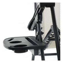 Load image into Gallery viewer, Azuma outdoor clip on side table for relaxer chairs.