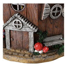Load image into Gallery viewer, Close up of the Blossom house solar ornament.