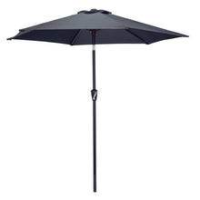 Load image into Gallery viewer, Azuma 2.5m round tilting parasol in grey.