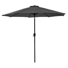 Load image into Gallery viewer, Azuma 3m round tilting parasol in grey.