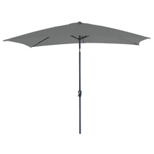 Load image into Gallery viewer, Azuma 3m x 2m tilting garden parasol in grey.