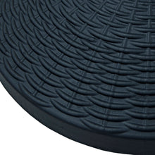 Load image into Gallery viewer, Close up of the Azuma 12kg black poly resin parasol base.