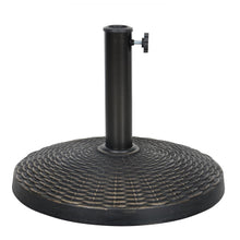 Load image into Gallery viewer, Azuma 25kg bronze poly resin parasol base.