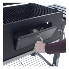 Load image into Gallery viewer, Azuma Rhino steel charcoal BBQ with door.