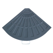 Load image into Gallery viewer, Azuma 14kg quarter round parasol base slab.