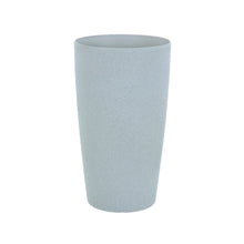 Load image into Gallery viewer, Azuma tall grey stone effect round plant pot.