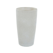 Load image into Gallery viewer, Azuma tall beige stone effect round plant pot.