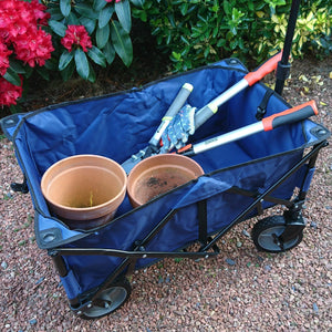 Azuma XL Multi Purpose Folding Wagon Trolley Gardening Cart