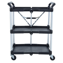Load image into Gallery viewer, Azuma wheeled service trolley cart.
