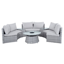 Load image into Gallery viewer, Azuma Monte Carlo rattan garden furniture set.
