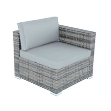 Load image into Gallery viewer, Corner seat from the Azuma Monaco rattan furniture set.