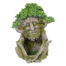 Load image into Gallery viewer, Tree creature novelty garden solar ornament.
