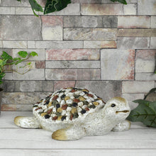 Load image into Gallery viewer, Azuma Garden Ornament Animal Shape Grey Beige Mosaic 32cm