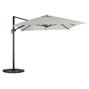 Azuma Roma XL Overhanging Garden Parasol With Crank Handle
