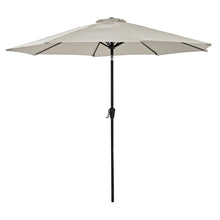 Load image into Gallery viewer, Azuma 3m Round Tilting Garden Parasol With Crank Handle