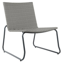 Load image into Gallery viewer, Azuma Como Bistro Set Grey Rattan Garden Chairs Steel Table