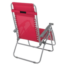 Load image into Gallery viewer, Azuma Textilene Zero Gravity Relaxer Chair - Persian Red