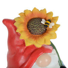 Load image into Gallery viewer, Azuma Garden Gnome Standing Ornament Resin Outdoor Decoration