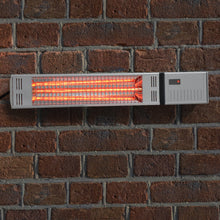 Load image into Gallery viewer, Azuma Wall Mount Patio Heater Remote Control 2 Settings 1500w