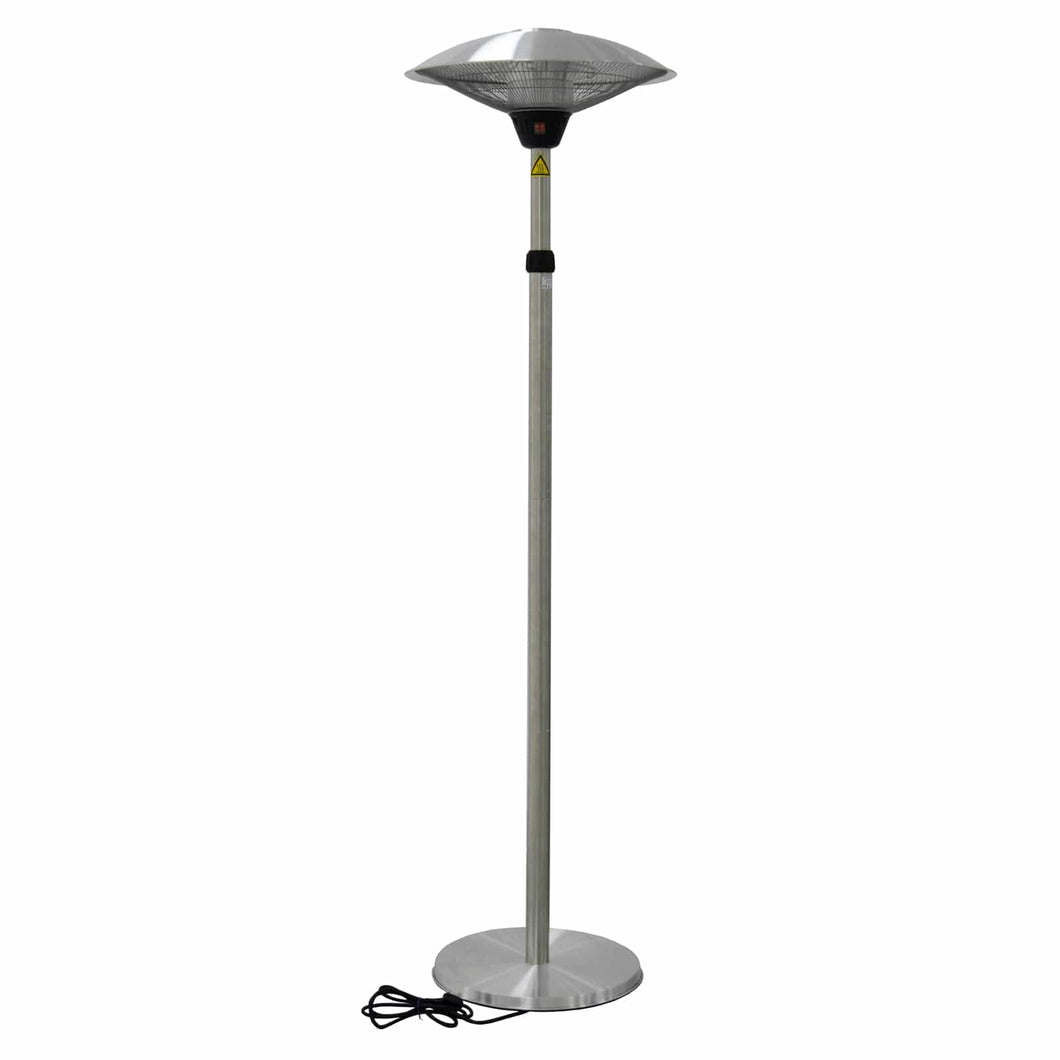 Azuma Large Patio Heater Adjustable Height 3 Settings 2100w