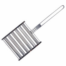 Load image into Gallery viewer, Azuma stainless steel BBQ sausage roller tool.