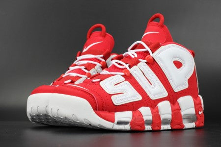 reputable site 631c0 817dd nike air more uptempo supreme varsity red white Air More Uptempo Supreme