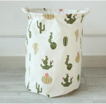 Load image into Gallery viewer, Cactus Laundry Hamper