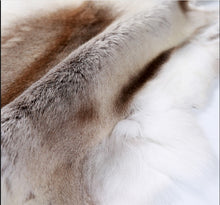 Load image into Gallery viewer, Reindeer Fur Rug 100% Genuine