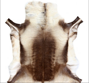 Reindeer Fur Rug 100% Genuine