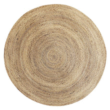 Load image into Gallery viewer, Round Jute Rug