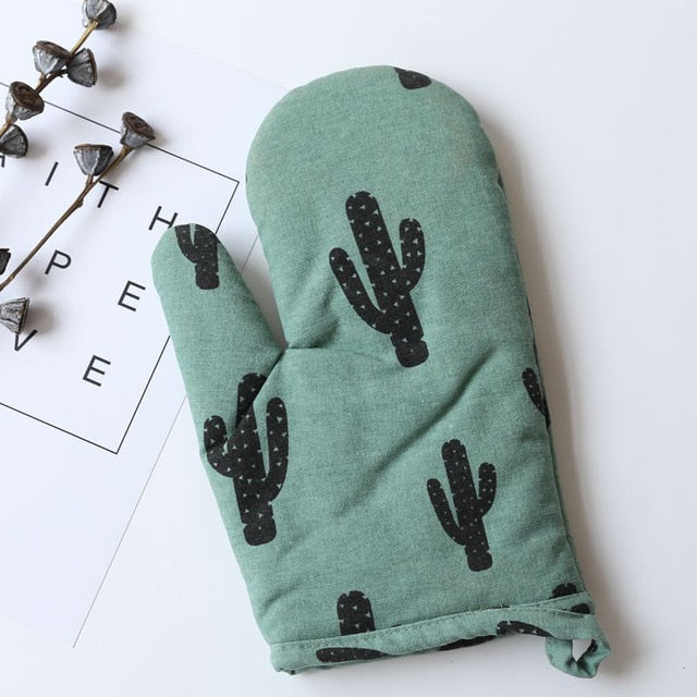 Cotton Oven Mitt