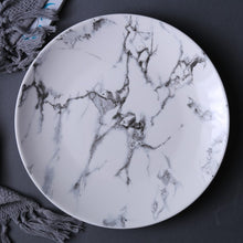 Load image into Gallery viewer, Set of 4 Marble Pattern Plates