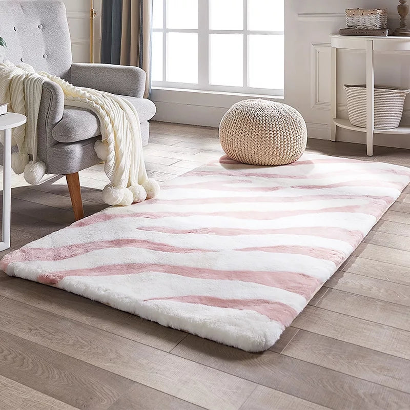 Natural Sheared Sheepskin Kids Rug
