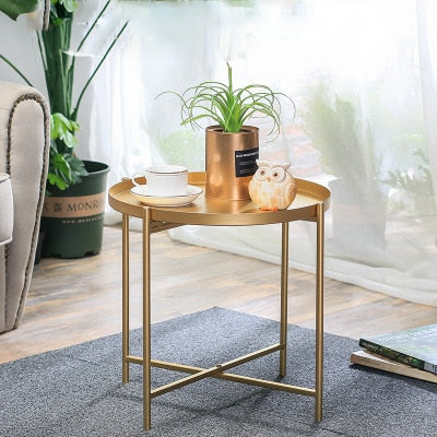 Round Nesting Tray Table