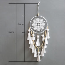 Load image into Gallery viewer, Handmade Dream Catcher - White