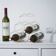 Load image into Gallery viewer, Honeycomb Wine Rack