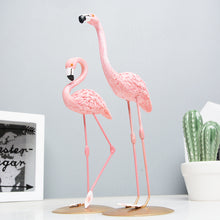 Load image into Gallery viewer, Resin Flamingo Room Decor