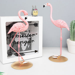 Resin Flamingo Room Decor