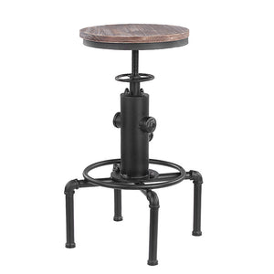 Industrial Backless Bar Stool