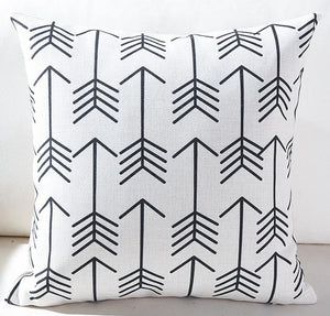 Black + White Kids Pillows