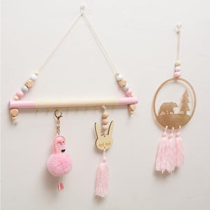 Wooden Hanging Wall Hook