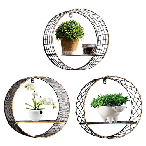 Industrial Circular Shelf