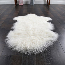Load image into Gallery viewer, Natural Mongolian Sheep Skin Rug