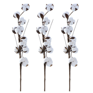 3PCS/Pack 22 Inch Cotton Stems