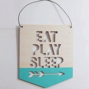 Wooden Quote Banner
