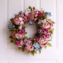 Load image into Gallery viewer, Peony Wreath