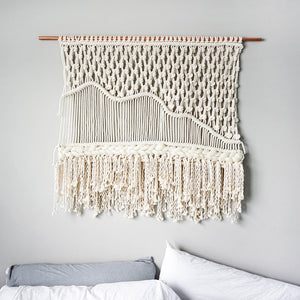 Handcrafted Macrame Wall Tapestry