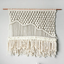 Load image into Gallery viewer, Handcrafted Macrame Wall Tapestry