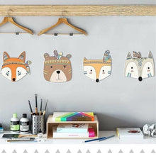 Load image into Gallery viewer, Woodland Animal Wall Art