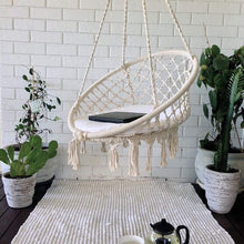 Load image into Gallery viewer, Round Hammock Swing Hanging Chair